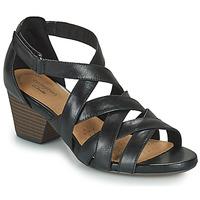 Sapatos Mulher Sandálias Clarks LORENE POP Preto