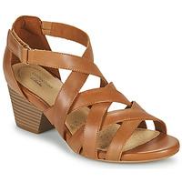 Sapatos Mulher Sandálias Clarks LORENE POP Camel