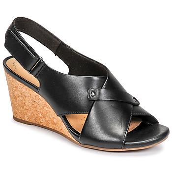 Sapatos Mulher Sandálias Clarks MARGEE EVE Preto