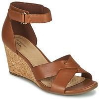 Sapatos Mulher Sandálias Clarks MARGEE GRACIE Castanho