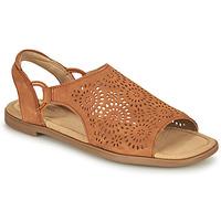Sapatos Mulher Sandálias Clarks REYNA SWIRL Camel