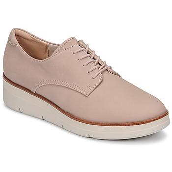 Sapatos Mulher Sapatos Clarks SHAYLIN LACE Rosa