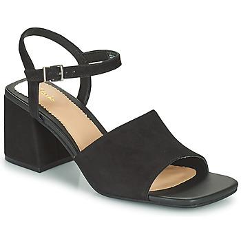 Sapatos Mulher Sandálias Clarks SHEER65 BLOCK Preto