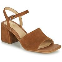 Sapatos Mulher Sandálias Clarks SHEER65 BLOCK Camel