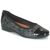 Sapatos Mulher Sabrinas Clarks UN DARCEY CAP2 Preto