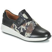 Sapatos Mulher Sapatilhas Clarks UN RIO STRAP Preto