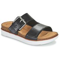 Sapatos Mulher Chinelos Clarks ELYANE EEASE Preto