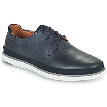 Sapatos Homem Sapatos Clarks BRATTON LACE Azul