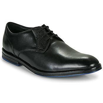 Sapatos Homem Sapatos Clarks CITISTRIDELACE Preto