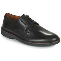 Sapatos Homem Sapatos Clarks MALWOOD PLAIN Preto