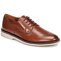 Sapatos Homem Sapatos Clarks MALWOOD PLAIN Castanho