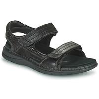Sapatos Homem Sandálias desportivas Clarks NATURE TREK Preto