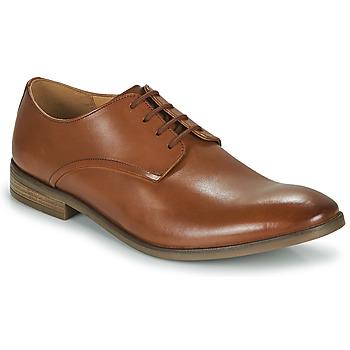 Sapatos Homem Sapatos Clarks STANFORD WALK Castanho