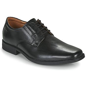 Sapatos Homem Sapatos Clarks TILDEN PLAIN Preto