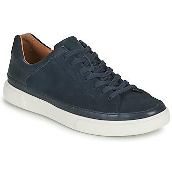 Sapatos Homem Sapatilhas Clarks UN COSTA TIE Azul