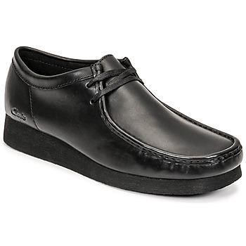 Sapatos Homem Sapatos Clarks WALLABEE 2 Preto