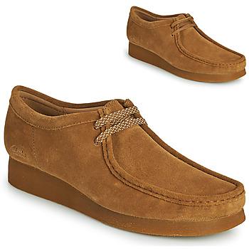 Sapatos Homem Sapatos Clarks WALLABEE 2 Castanho