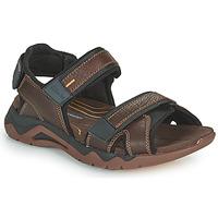Sapatos Homem Sandálias desportivas Clarks WAVE2.0 JAUNT Castanho