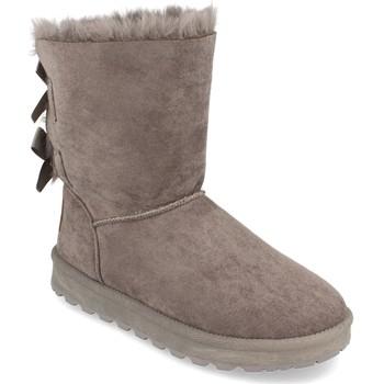 Sapatos Mulher Botas de neve Woman Key 2000-31 Gris