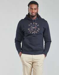 Textil Homem Sweats Tommy Hilfiger ICON COIN HOODY Marinho