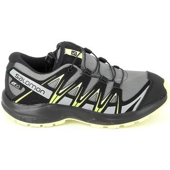 Sapatos Rapaz Sapatos de caminhada Salomon XA Pro 3D CSWP K Gris Jaune Cinza