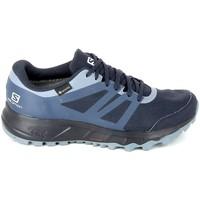 Sapatos Mulher Sapatilhas de corrida Salomon Trailster 2 GTX Marine Azul