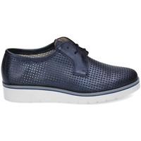 Sapatos Mulher Sapatos & Richelieu Kennebec 6065 P.CUADRADITOS Azul