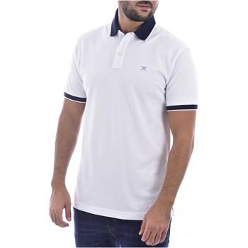 Textil Homem T-shirts e Pólos Hackett HM562698 Branco