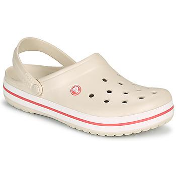 Sapatos Mulher Tamancos Crocs CROCBAND Bege / Coral