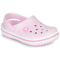 Sapatos Rapariga Tamancos Crocs CROCBAND CLOG K Rosa