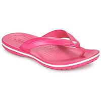 Sapatos Criança Chinelos Crocs CROCBAND FLIP GS Rosa