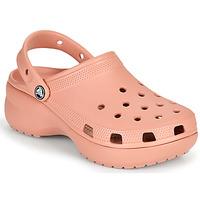Sapatos Mulher Tamancos Crocs CLASSIC PLATFORM CLOG W Rosa