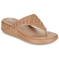 Sapatos Mulher Chinelos Crocs CROCS MONTEREY SHIMMER WGFPW Bronze