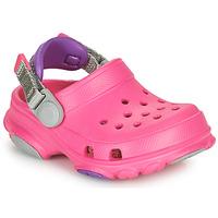 Sapatos Rapariga Tamancos Crocs CLASSIC ALL-TERRAIN CLOG K Rosa