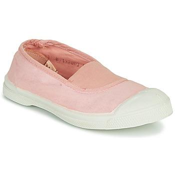Sapatos Rapariga Sapatilhas Bensimon TENNIS ELASTIQUE Rosa