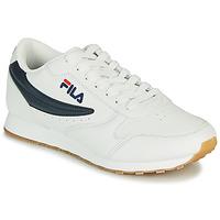 Sapatos Homem Sapatilhas Fila ORBIT LOW Branco / Azul