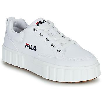 Sapatos Mulher Sapatilhas Fila SANDBLAST C WMN Branco