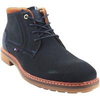 Sapatos Homem Botas baixas Bitesta 32173 azul Azul