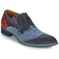Sapatos Homem Sapatos Kdopa MONTMARTRE Azul / Castanho