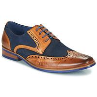 Sapatos Homem Sapatos Kdopa MANI Camel / Azul