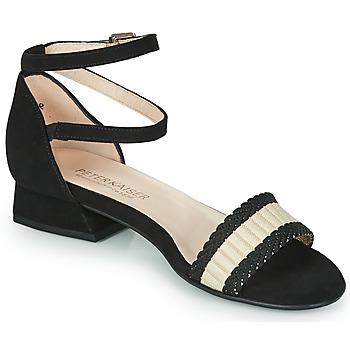 Sapatos Mulher Sandálias Peter Kaiser PUERTO Preto