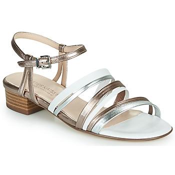 Sapatos Mulher Sandálias Peter Kaiser PATIA Bronze / Branco