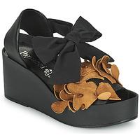 Sapatos Mulher Sandálias Papucei MAYA Preto / Castanho