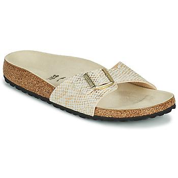 Sapatos Mulher Chinelos Birkenstock MADRID Ouro
