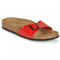 Sapatos Mulher Chinelos Birkenstock MADRID Vermelho