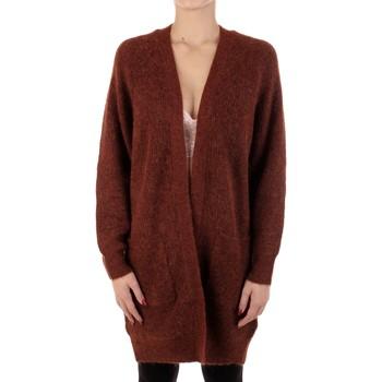 Textil Mulher Casacos de malha Selected 16074480 Castanho