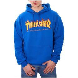 Textil Homem Sweats Thrasher FLAME-ROY azul