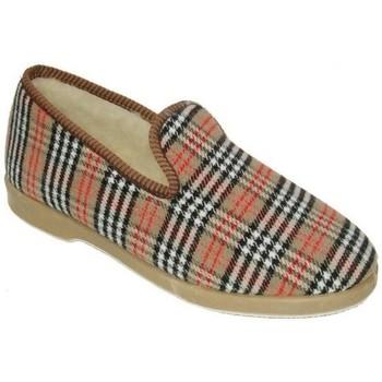 Sapatos Mulher Chinelos Cbp - Conbuenpie Zapato de mujer de piel con cuña by PEPE MENARGUES (TUPIE) Beige
