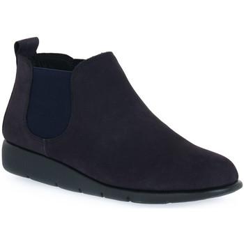 Sapatos Mulher Botas baixas Frau NABOUCK NAVY Blu