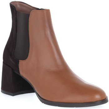 Sapatos Mulher Botins Priv Lab VITELLO CUOIO Marrone